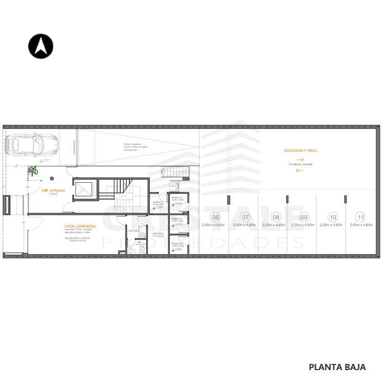 Venta departamento 2 dormitorios Rosario, . Cod CBU7832 AP2025266. Crestale Propiedades