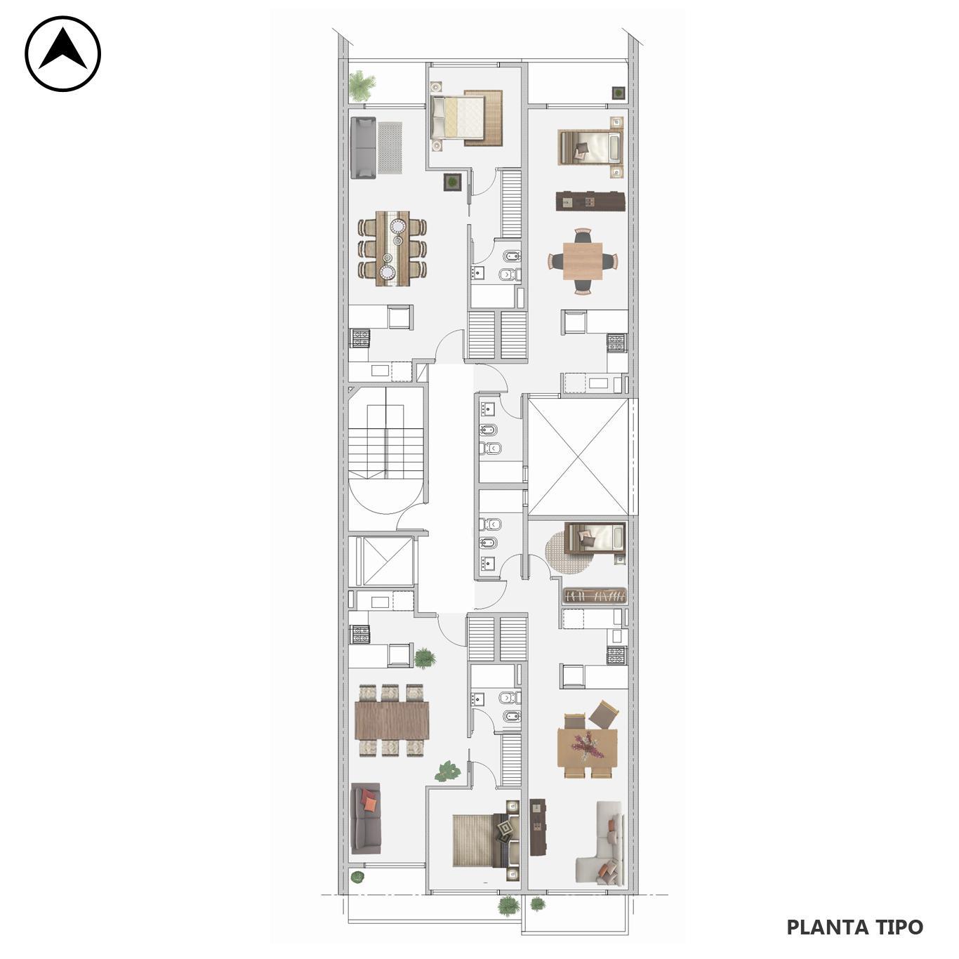 Venta departamento monoambiente Rosario, Centro. Cod CBU17595 AP2120431. Crestale Propiedades