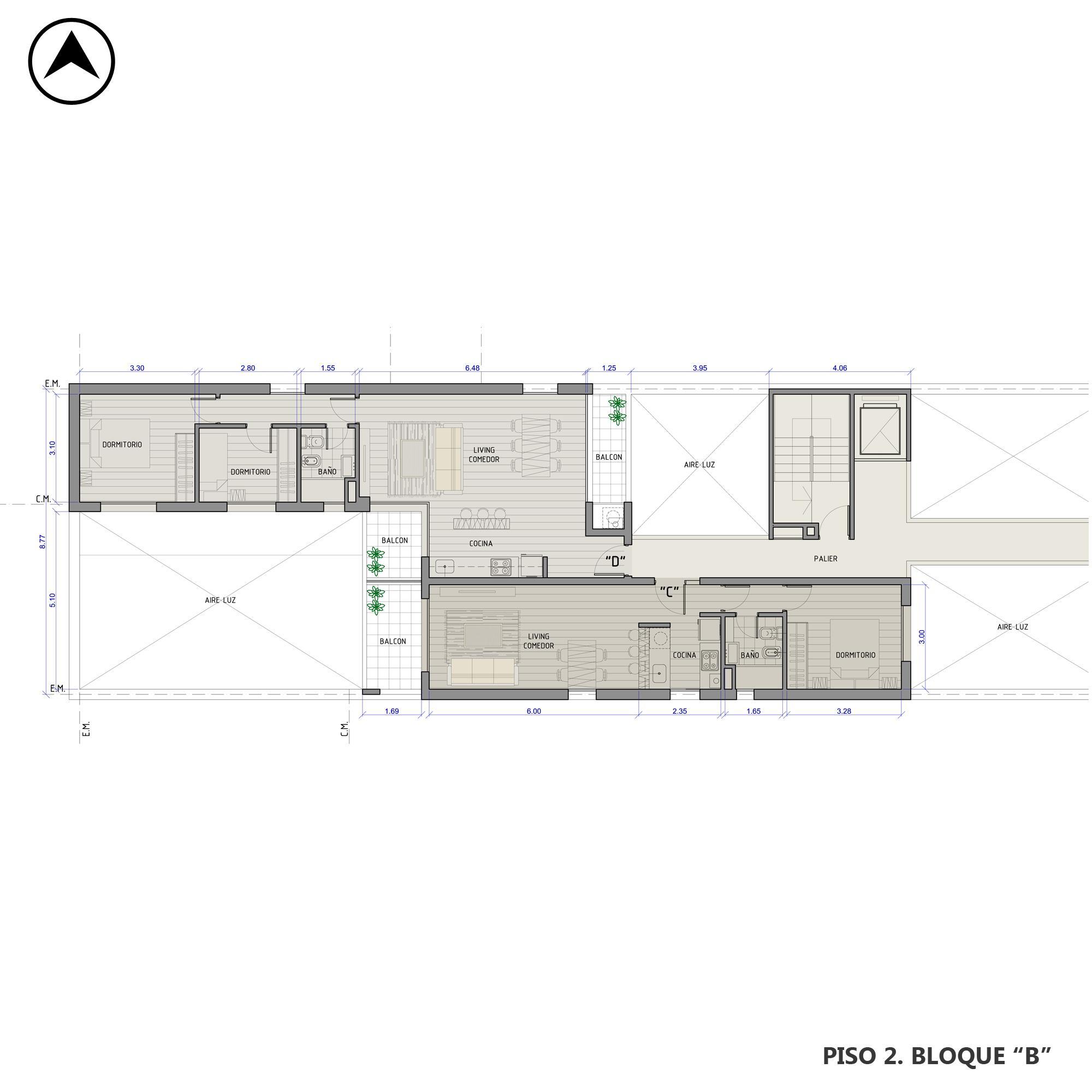 Venta departamento 1 dormitorio Rosario, Pichincha. Cod CBU22424 AP2157251. Crestale Propiedades