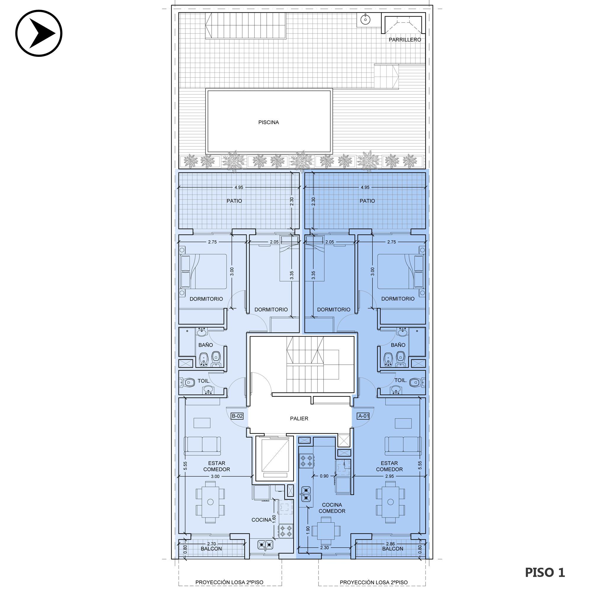 Venta departamento 2 dormitorios Rosario, Centro. Cod CBU20310 AP2294835. Crestale Propiedades
