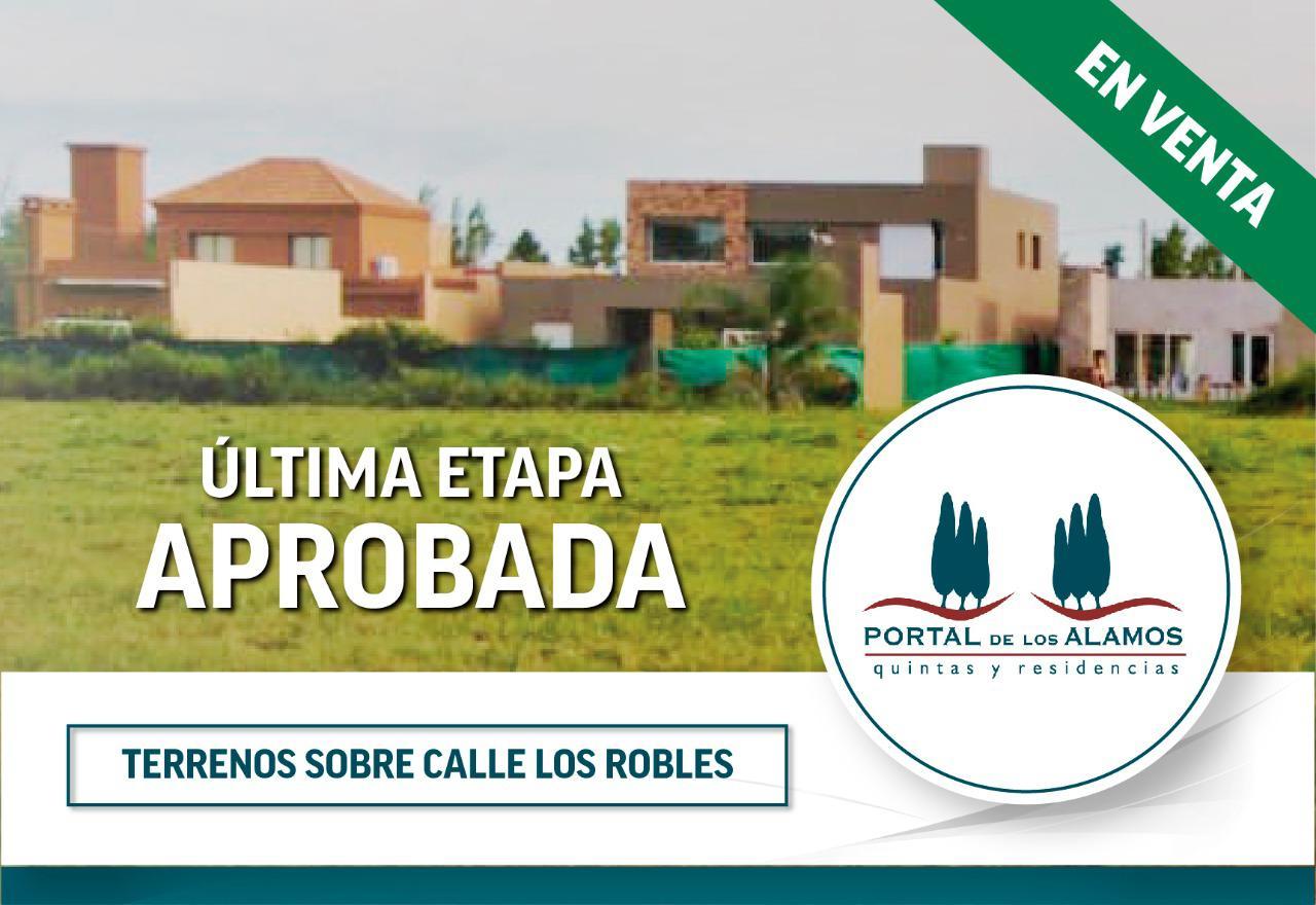 Loteo Portal Los Álamos - Gaggiotti Inmobiliaria cuenta con más de 50 años desde que se inicio en el negocio de los servicios inmobiliarios.