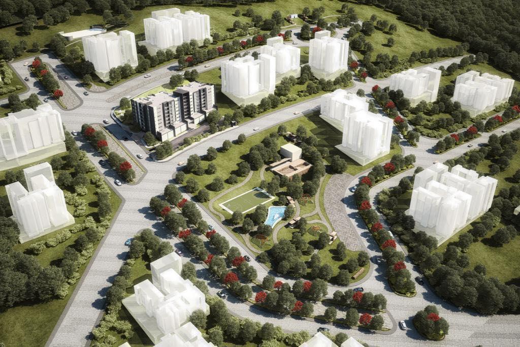 FotoDESARROLLO - Condominio en  en  Monterrey , Nuevo León  Departamentos en venta y preventa GAIA