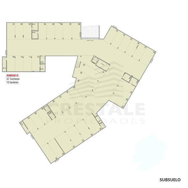 Venta departamento 1 dormitorio Funes, Funes. Cod CBU7784 AP2192893. Crestale Propiedades