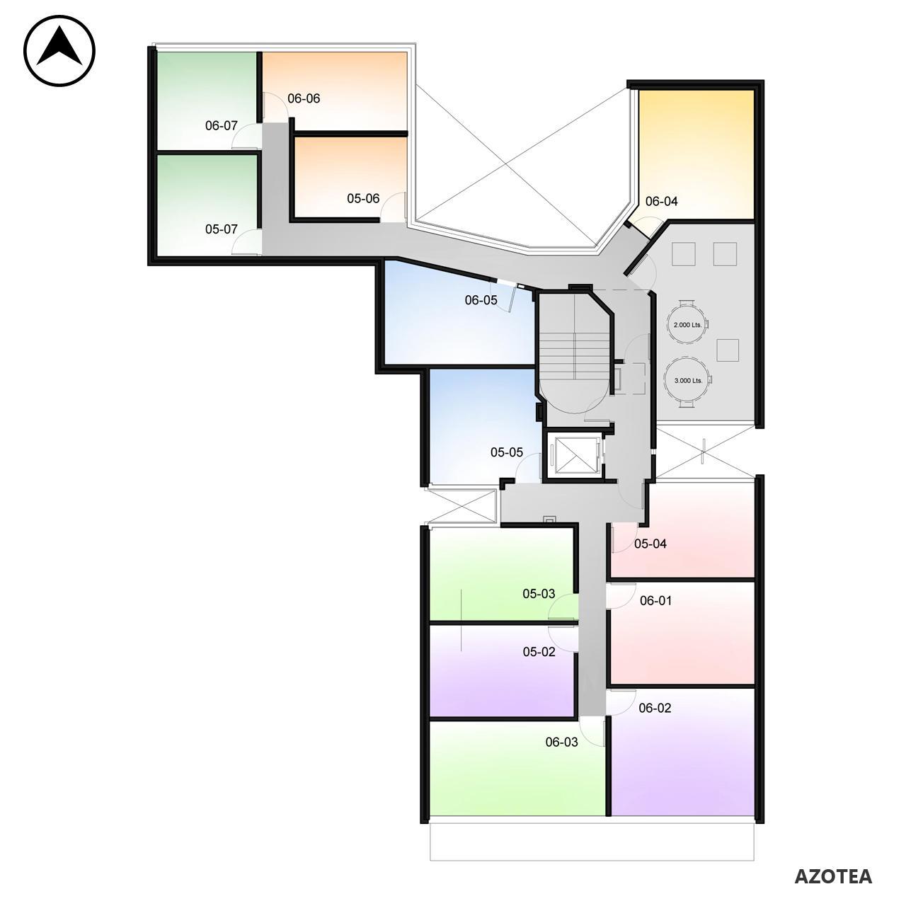 Venta departamento 1 dormitorio Rosario, . Cod CBU7870 AP1143350. Crestale Propiedades