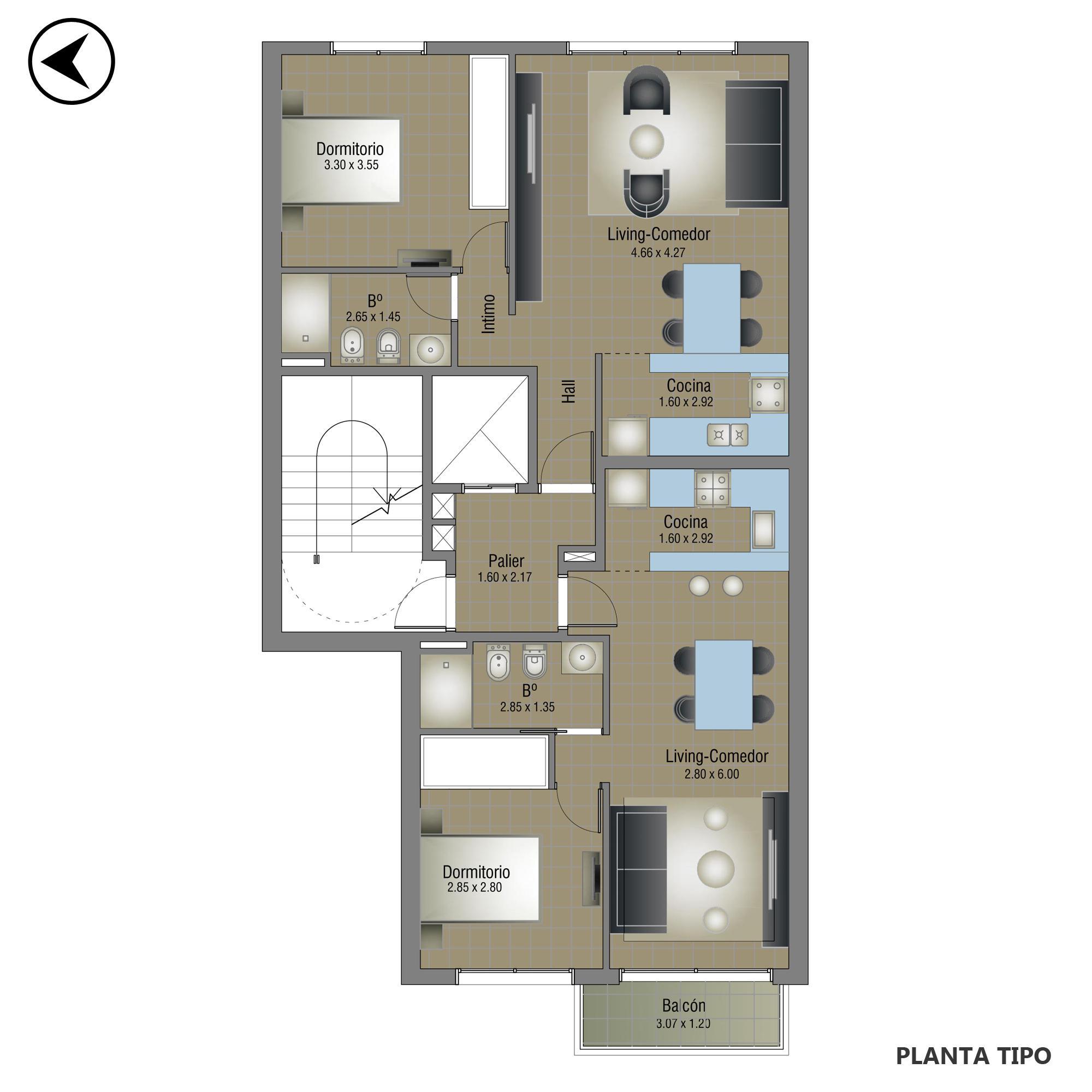 Venta departamento 1 dormitorio Rosario, Abasto. Cod CBU20162 AP1977496. Crestale Propiedades