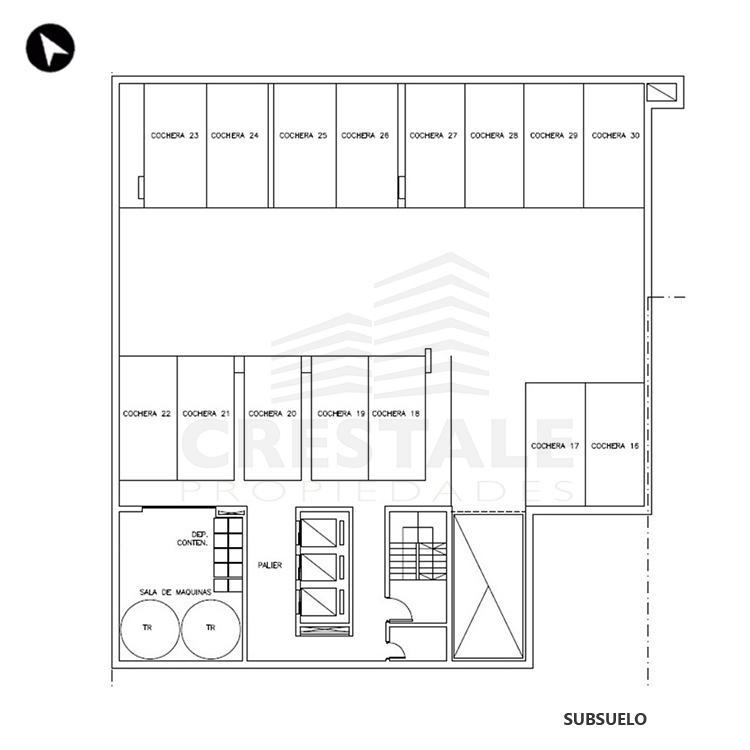 Venta departamento 1 dormitorio Rosario, . Cod CBU7687 AP2315950. Crestale Propiedades