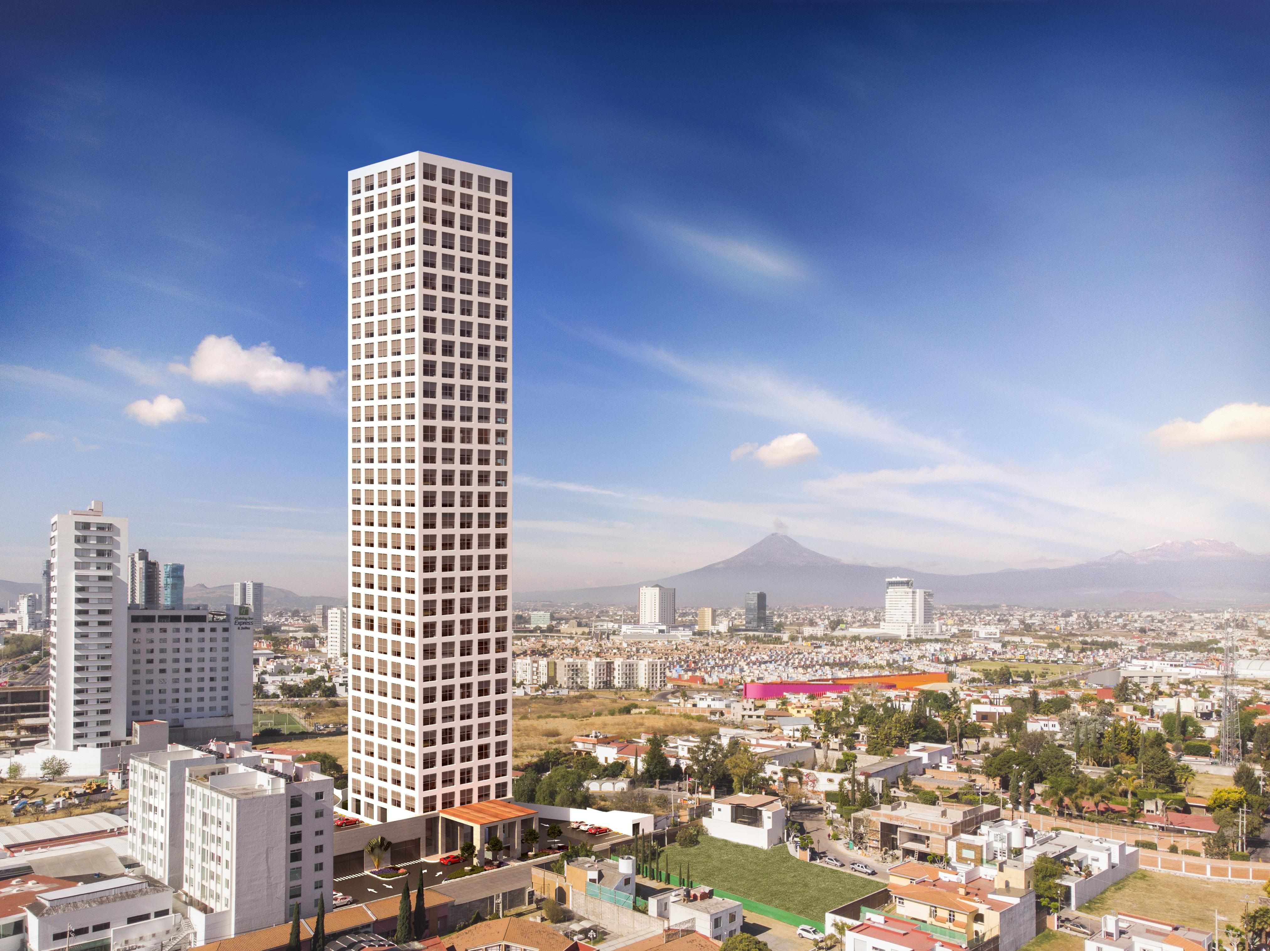 FotoDESARROLLO - Edificio en  en  San Andrés Cholula , Puebla  Torre Selenite (Vía Atlixcayotl)