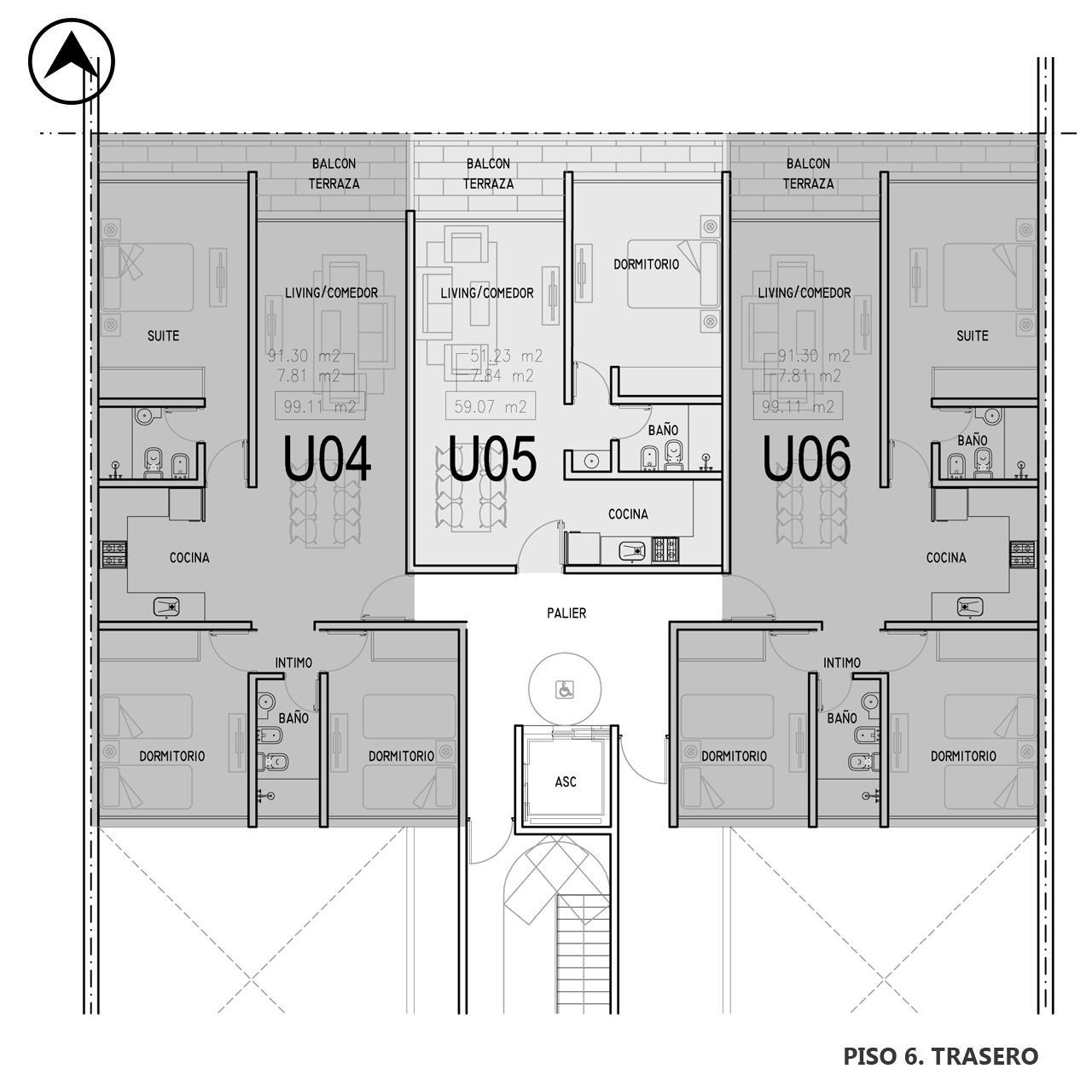 Venta departamento 3 dormitorios Rosario, Centro. Cod CBU12750 OF1224150. Crestale Propiedades