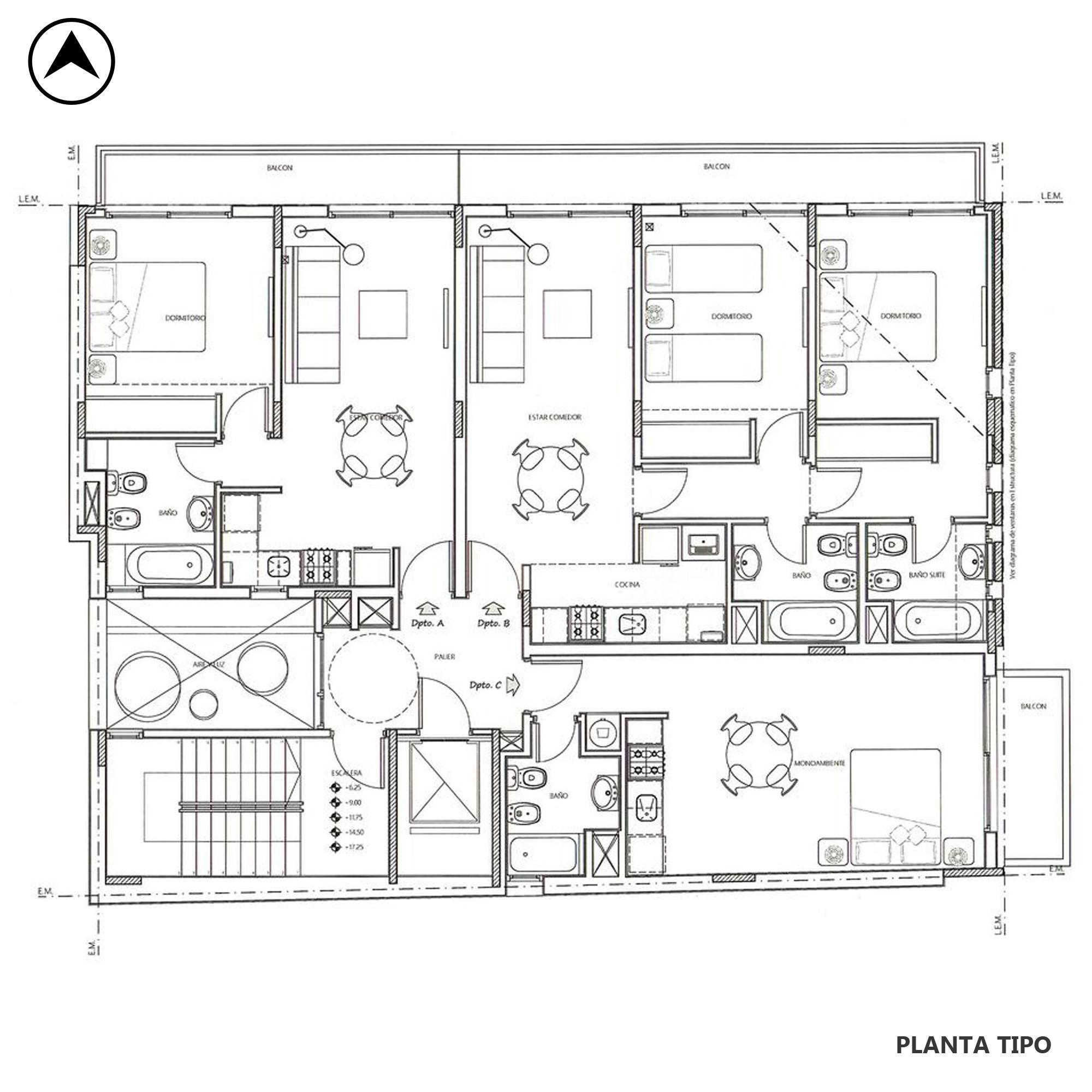 Venta departamento 1 dormitorio Rosario, Centro. Cod CAP1776721. Crestale Propiedades