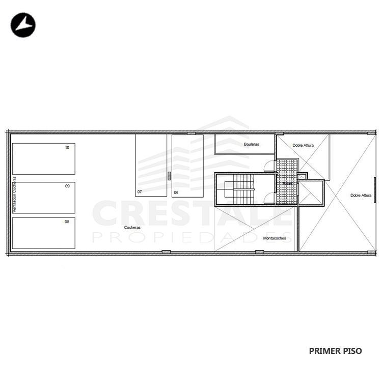 Venta departamento 1 dormitorio Rosario, Echesortu. Cod 1449. Crestale Propiedades
