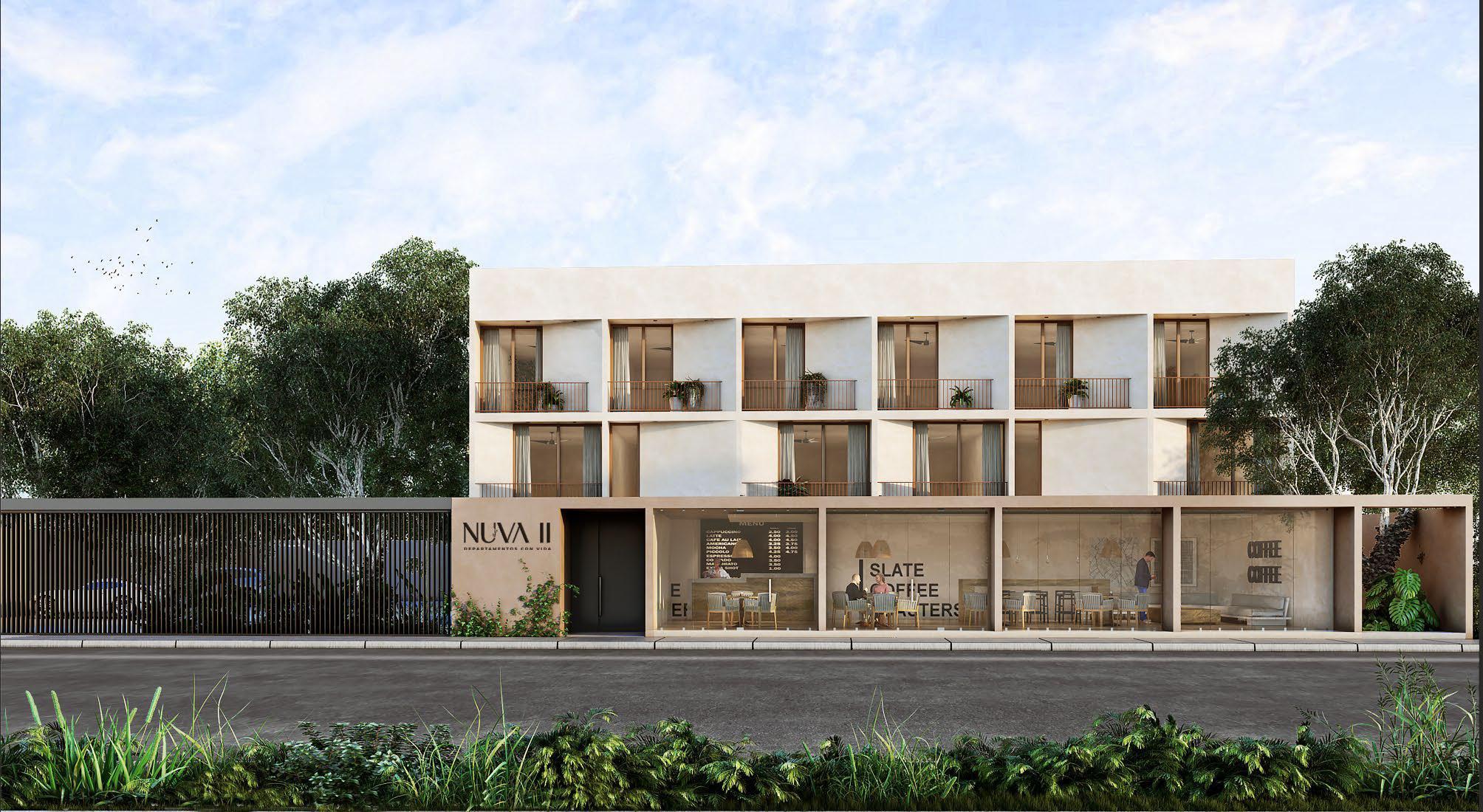 FotoDESARROLLO - Condominio en  en  Mérida , Yucatán  Apartamentos con vida