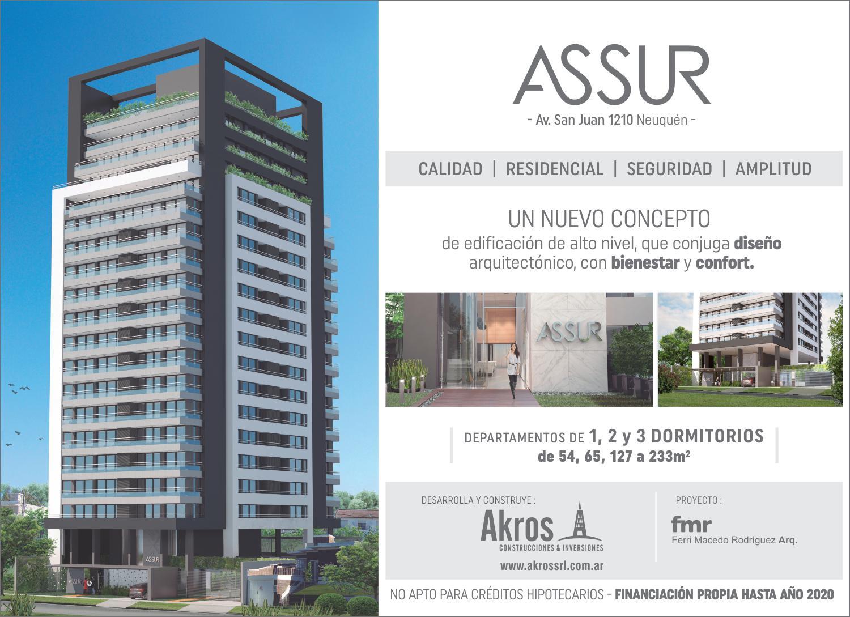 FotoEMPRENDIMIENTO - Edificio en  en  Capital , Neuquen  Av. San Juan 1200