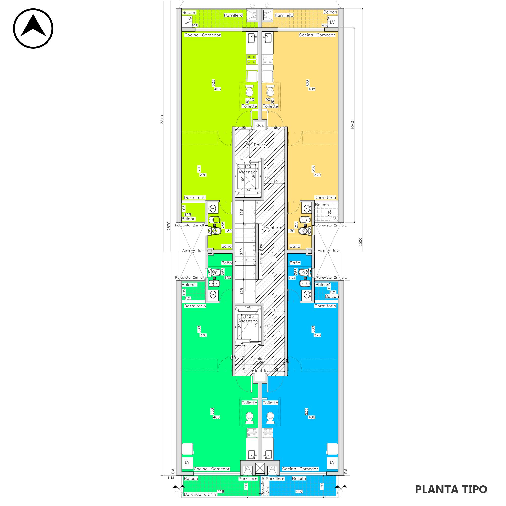 Venta departamento 1 dormitorio Rosario, Centro. Cod CBU20273 AP2006591. Crestale Propiedades