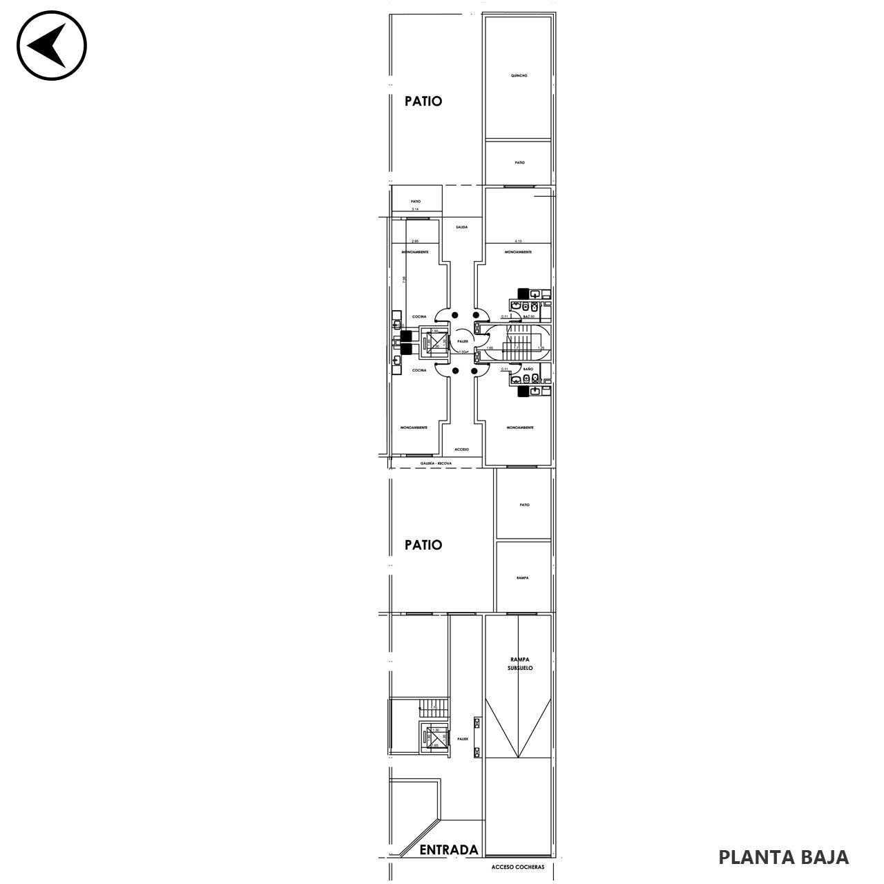 Venta departamento 1 dormitorio Rosario, Parque España. Cod CBU23332 AP2200081. Crestale Propiedades