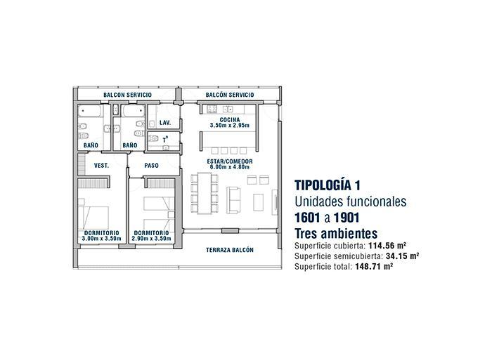 Foto Edificio en Área Centro Este  Belgrano 531 número 20