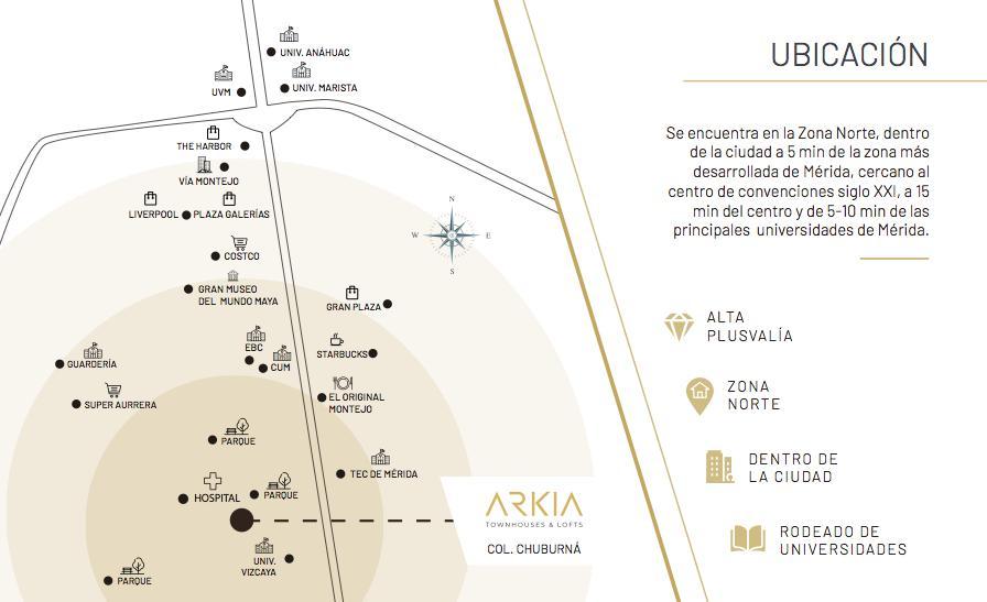 Foto Condominio en Pueblo Chuburna de Hidalgo Arkia  número 3