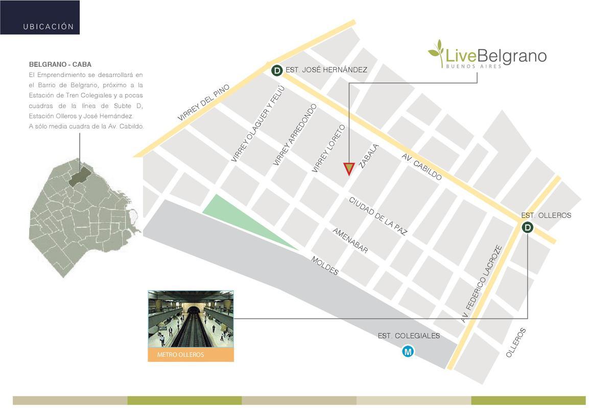Foto unidad Departamento en Venta en  Belgrano ,  Capital Federal  ZABALA 2400