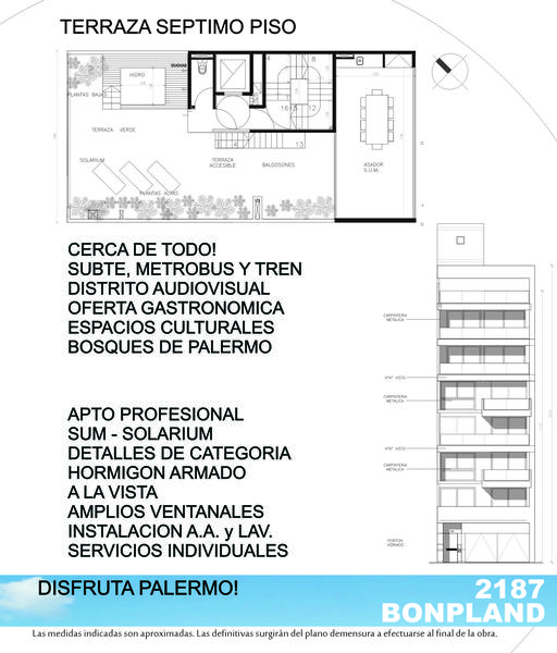 Foto Edificio en Palermo Hollywood Bonpland y Guatemala número 10