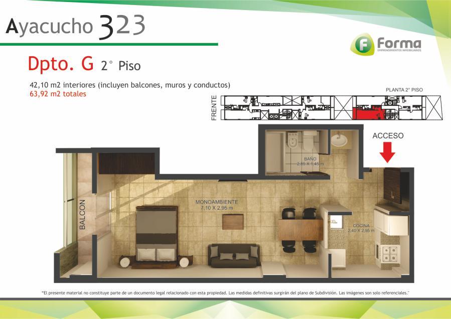 Foto Edificio en Barrio Sur AYACUCHO 232 número 17
