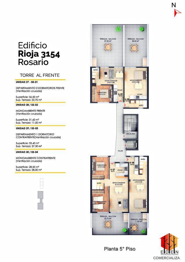 Foto Edificio en Lourdes Rioja 3154 número 16