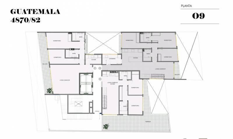 Foto Edificio en Palermo Soho GUATEMALA  4780 número 22