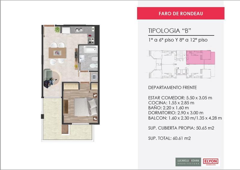 Foto Edificio en Nueva Cordoba Faro de Rondeau |  Rondeau 533 número 9