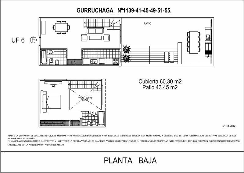 Emprendimiento Gurruchaga 1151 (y Jufré) en Palermo
