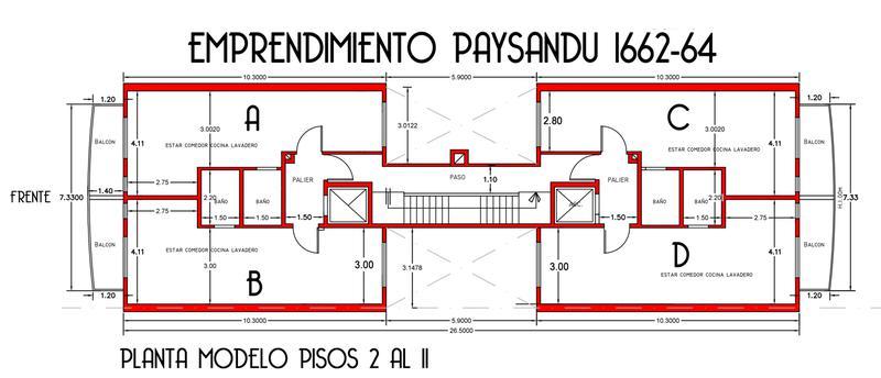 Foto Edificio en Caballito Norte PAYSANDU 1600 número 3