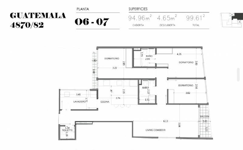 Foto Edificio en Palermo Soho GUATEMALA  4780 número 27