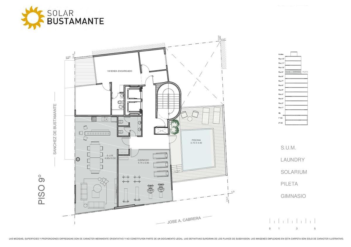 Foto Edificio en Palermo J. A. Cabrera y S. de Bustamante número 9