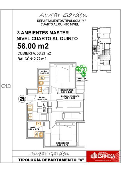 Foto unidad Departamento en Venta en  Ituzaingó,  Ituzaingó  Alvear 900 4ºD