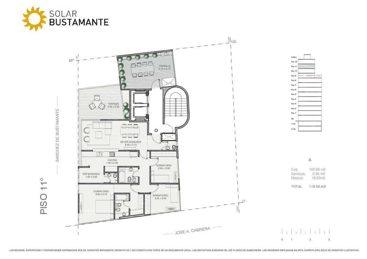 Foto Edificio en Palermo J. A. Cabrera y S. de Bustamante número 11