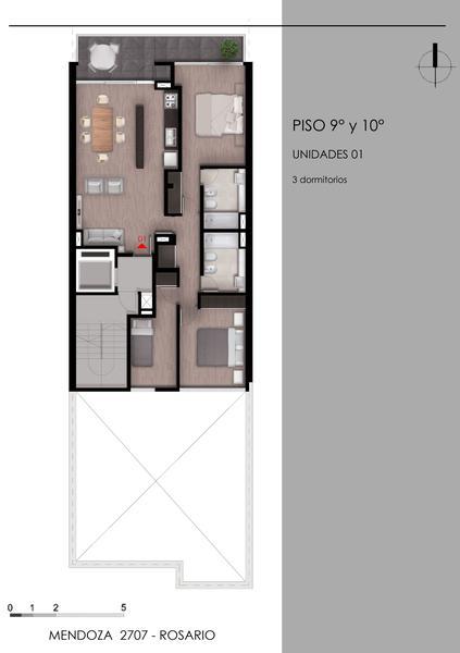 Foto Edificio en Lourdes MYC - Mendoza 2707 número 8