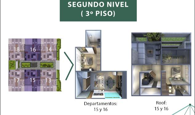 Foto Condominio en Mérida Taliva departamentos número 9
