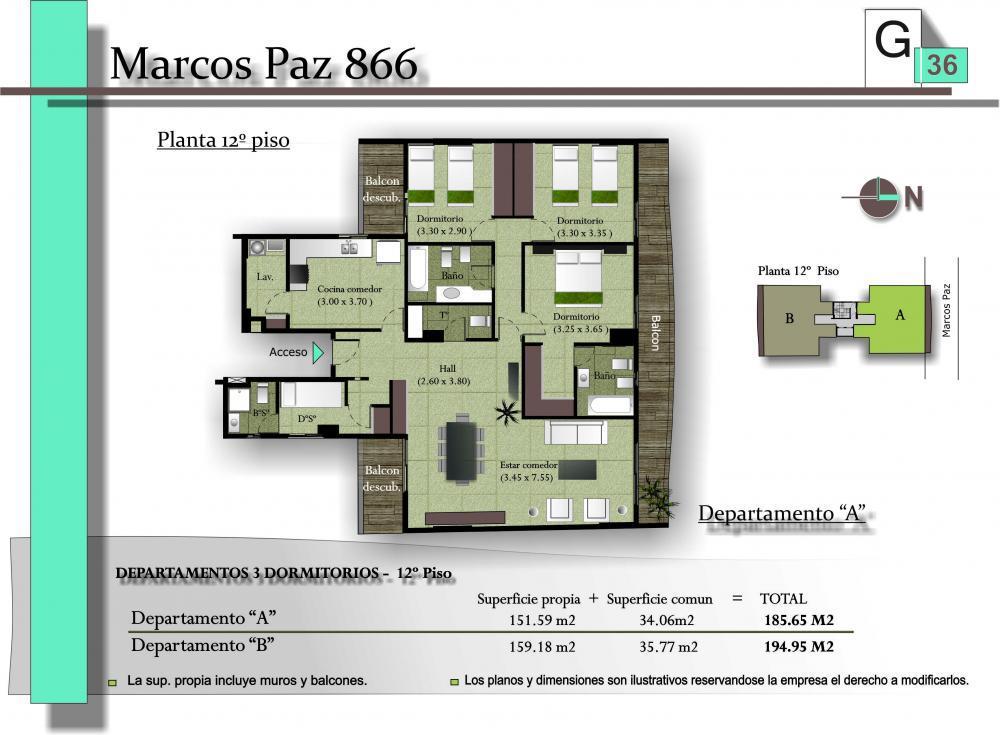 Foto Edificio en San Miguel De Tucumán MARCOS PAZ 886 número 3