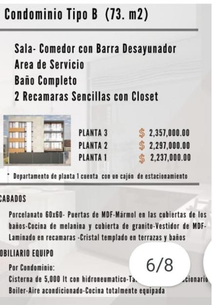 Foto Departamento en Venta en  Fraccionamiento Villas de Montenegro,  Aguascalientes  Departamentos en Venta en Zona Norte, Ags