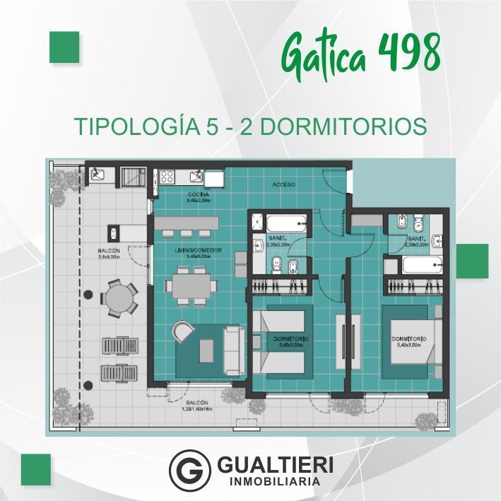 Foto Edificio en Cumelén                          Gatica 498          - CONDICIONES UNICAS número 12