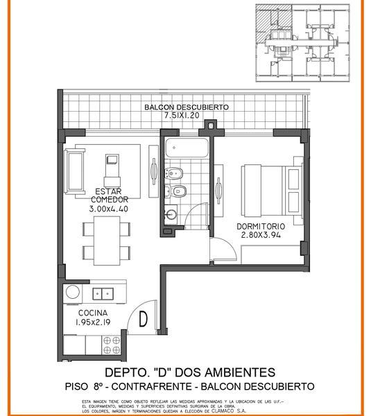 Foto Edificio en Moron Sur Mariano Moreno 700 número 20