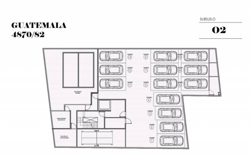 Foto Edificio en Palermo Soho GUATEMALA  4780 número 5