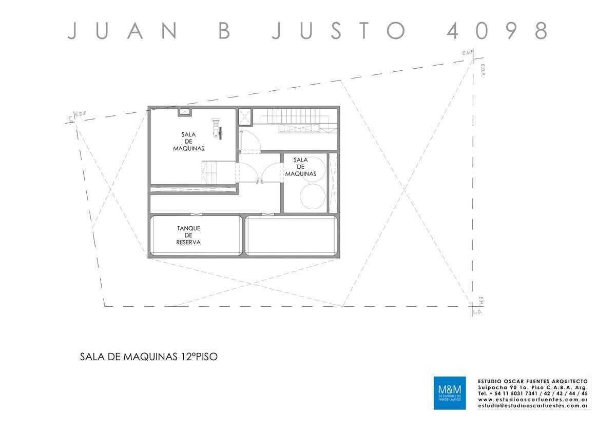 Foto Edificio en Caballito Juan B Justo 4098 número 15
