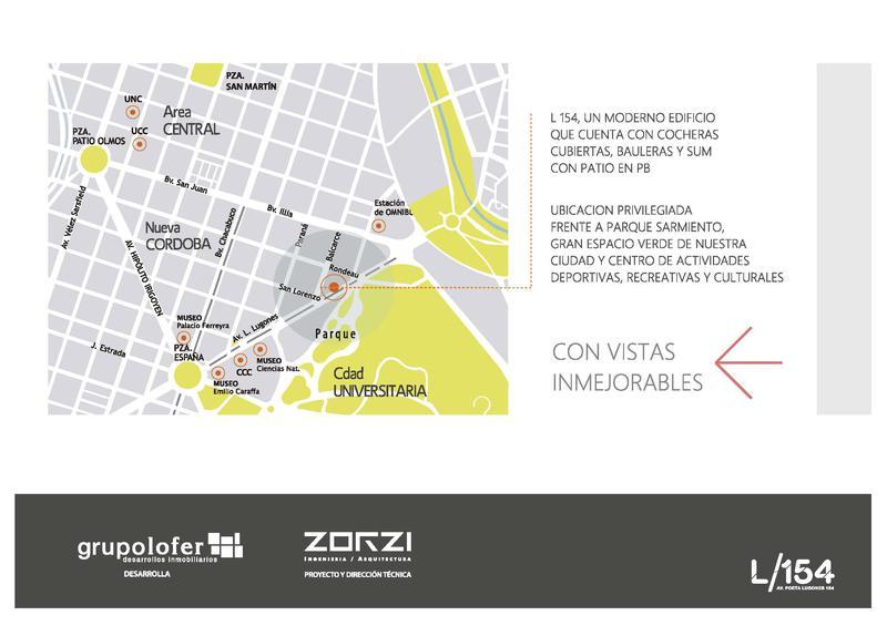 Foto Edificio en Nueva Cordoba Av. Poeta Lugones 154- L154 número 3