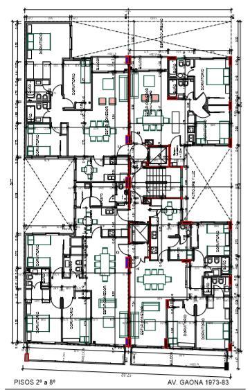 Foto Edificio en Caballito Norte Edificio de 3 y 4 ambientes. número 10