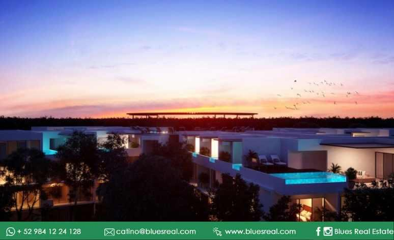 Unit picture Apartment in Sale in  Tulum ,  Quintana Roo  NEW Condo in The Panoramic Tulum  | Blues Real | Code 643