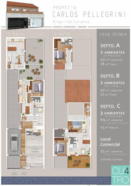 Foto Edificio en Quilmes Carlos Pellegrini 560 número 1