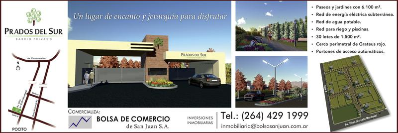 Foto Barrio Privado en Prados del Sur Calle 8 y Av. Mendoza numero 3