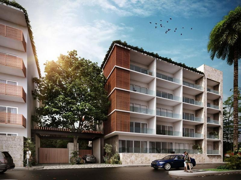 Foto Edificio en Playa del Carmen Centro Calle 34 entre avda 20 y 10. número 17