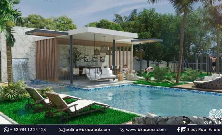 Unit picture Apartment in Sale in  Tulum ,  Quintana Roo  For sale new apartments in Kaanal Condos | Blues Real | Code 468
