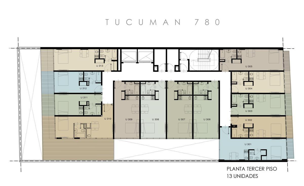 Foto Edificio en Microcentro             Tucuman 780          caba número 28