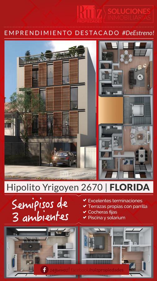 Foto Departamento en Venta en  Florida Mitre/Este,  Florida  Hipólito Yrigoyen 2670 2° A