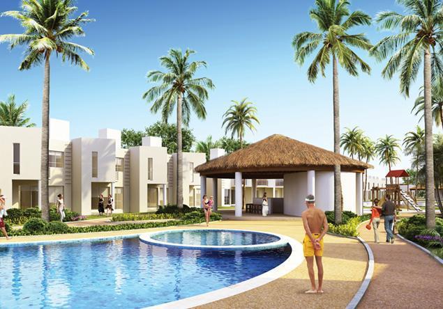 Foto Country en Playa del Carmen balli villas se ubica entre el club de golf, PLAYACAR Y EL PARQUE turistico ecológico xcaret.   Para llegar a playa del carmen existen varias autopistas modernas  ferrys y cruceros desde la isla de  número 3